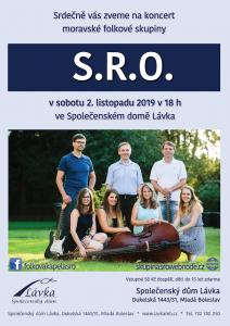 Koncert folkové kapely S.R.O. @ Společenský dům Lávka